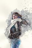 Jessica Jones 1 Cover Art Featuring Jessica Jones