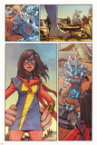 Ms Marvel 11 Cover Art Featuring Ms Marvel (Kamala Khan)