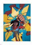 Ms Marvel 11 Panel Featuring Ms Marvel (Kamala Khan)