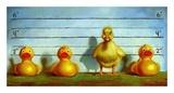 The Big Lineup Reproduction d'art par Lucia Heffernan