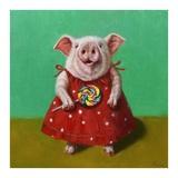 Sticky Reproduction d'art par Lucia Heffernan