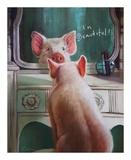 Affirmation Reproduction d'art par Lucia Heffernan