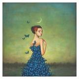 Metamorphosis in Blue Reproduction d'art par Duy Huynh