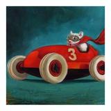 Speed Racer Reproduction d'art par Lucia Heffernan