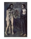 La Vie (Life) Reproduction d'art par Pablo Picasso