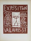 Exposition Vallauris Reproduction pour collectionneurs par Pablo Picasso