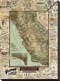 California map for Cyclers