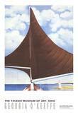 Brown Sail Reproduction pour collectionneurs par Georgia O'Keeffe