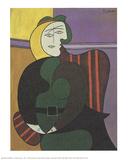 The Red Armchair Reproduction pour collectionneurs par Pablo Picasso