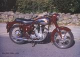 BSA B33 500c 1954