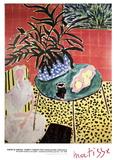Interior with Black Fern Reproduction pour collectionneurs par Henri Matisse