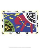 The Horse, the Equestrienne and the Clown Reproduction d'art par Henri Matisse
