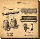 Schmidts Tap 1900 in Sepia