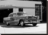1955 Chev Belair 7 B&W