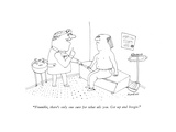 """""""Frumble  there's only one cure for what ails you Get up and boogie"""" - New Yorker Cartoon"""