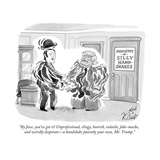 """By Jove  you've got it! Unprofessional  clingy  boorish  volatile  fake-m… - Cartoon"