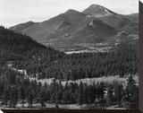 Barren mountains  Rocky Mountain National Park  Colorado  ca 1941-1942