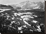Long's Peak  in Rocky Mountain National Park  Colorado  ca 1941-1942