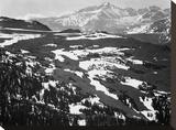 Long's Peak  in Rocky Mountain National Park  Colorado  ca 1941-1942