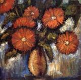 Orange Poppies I