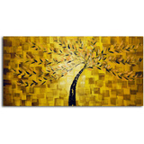 Textured Gold Tree