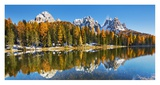 Lago Antorno and Misurina  Dolomites  Italy