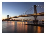 Queensboro Bridge and Manhattan from Brooklyn  NYC
