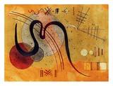 Launelinie Giclée par Wassily Kandinsky