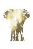 Gold Foil Elephant II