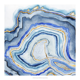 Cobalt Agate I Reproduction d'art par Grace Popp