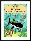 Le Trésor de Rackham Le Rouge, c.1944 Reproduction encadrée par Hergé (Georges Rémi)