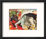 The Bullfight Reproduction encadrée par Pablo Picasso