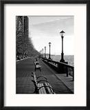 Battery Park City I Reproduction encadrée par Jeff Pica