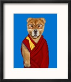 Tibet (Pets Rock) Reproduction encadrée par Takkoda