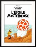 L'Etoile Mystérieuse, c.1942 Reproduction encadrée par Hergé (Georges Rémi)