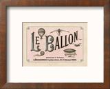 Le Ballon, ca. 1883 Reproduction encadrée par Vintage Reproduction