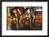 The Metamorphosis of Narcissus, c.1937 Reproduction encadrée par Salvador Dalí