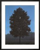 Le seize septembre Reproduction encadrée par Rene Magritte