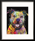 Beware of Pit Bulls Reproduction encadrée par Dean Russo