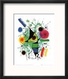 The Singing Fish Reproduction encadrée par Joan Miró
