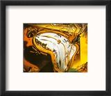 Soft Watch at the Moment of First Explosion, c.1954 Reproduction encadrée par Salvador Dalí