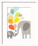Elephants Reproduction encadrée par The Paper Nut