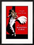 Josephine Baker Reproduction encadrée par Clifford Faust