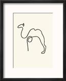 The Camel Reproduction encadrée par Pablo Picasso