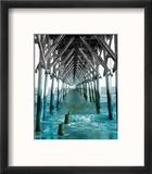 Teal Dock I Reproduction encadrée par Jairo Rodriguez