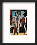 Three Dancers, c.1925 Reproduction encadrée par Pablo Picasso
