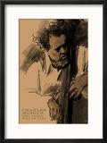 Charles Mingus Reproduction encadrée par Clifford Faust