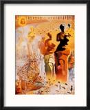 The Hallucinogenic Toreador, c.1970 Reproduction encadrée par Salvador Dalí