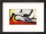 At Rest Reproduction encadrée par Pablo Picasso