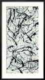 Number II A Reproduction encadrée par Jackson Pollock
